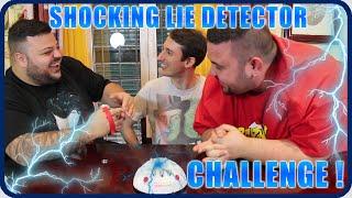 SHOCKING LIE DETECTOR CHALLENGE ! w/Dexter & CiccioGamer89