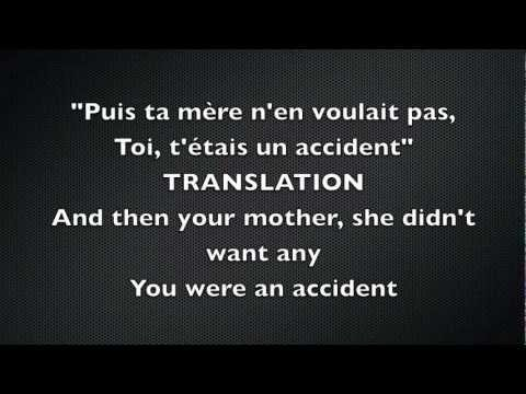 Dégénération By Mes Aïeux--Original Lyrics And Translation To English