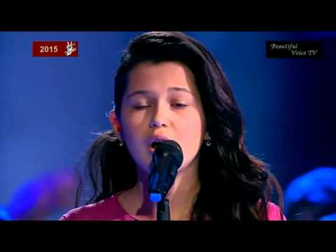 'Broken Vow'(Lara Fabian).Alina/Xenia/Christina.The Voice Kids Russia 2015.
