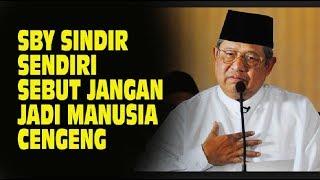 SBY....Jangan Jadi Manusia Pesimis, Cengeng, Mengeluh  Rasanya Kok Kayak Nyindir Diri Sendiri