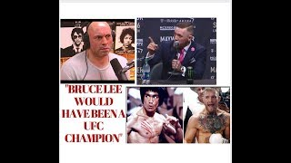 Video Conor Mcgregor, Mike Tyson, Joe Rogan on Bruce Lee MP3, 3GP, MP4, WEBM, AVI, FLV Desember 2018
