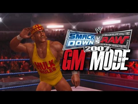 """WWE Smackdown vs Raw 2007 - GM MODE - """"DEATH BY PINBALL!!"""" (Ep 6)"""