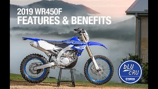 8. 2019 Yamaha WR450F - Features and Benefits