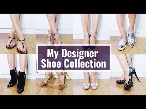 My Designer Shoe Collection/Chanel, Valentino,Ferragamo,Jimmy Choo, Sergio Rossi, Miu Miu