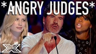 Video When X Factor Judges Get ANGRY! | X Factor Global MP3, 3GP, MP4, WEBM, AVI, FLV April 2018