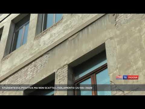 STUDENTESSA POSITIVA MA NON SCATTA L'ISOLAMENTO | 21/09/2020