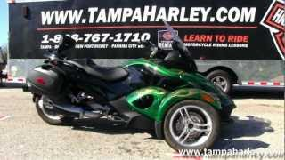 7. Used 2009 Can Am Spyder RS with Custom Paint for sale