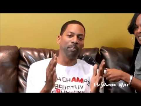 Carla Ja Interviews Apollo Live's Host Comedian, Tony Rock!