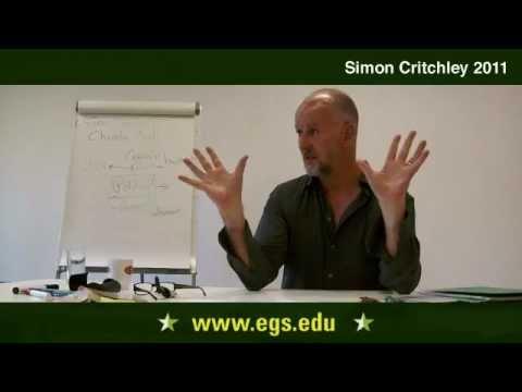 Simon Critchley. Eine dialektische Lesen der Orestie. 2011