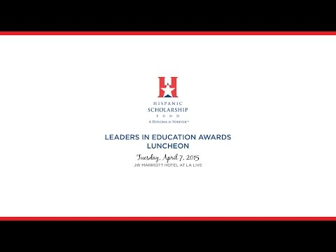 2015 Leaders in Education Awards Luncheon