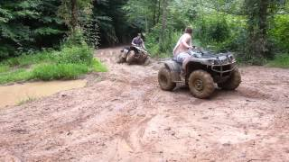 9. 2012 Big bear 400 and 2013 yamaha grizzly 350