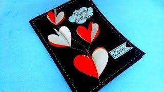 Beautiful Handmade Birthday Card Idea For Love   Complete Tutorial