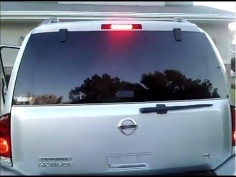 Nissan Armada / Infiniti QX56 High Mount Third Brake Light – How To Replace, DIY