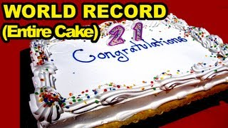 Nonton Birthday Cake Eating World Record (Entire Cake) Film Subtitle Indonesia Streaming Movie Download