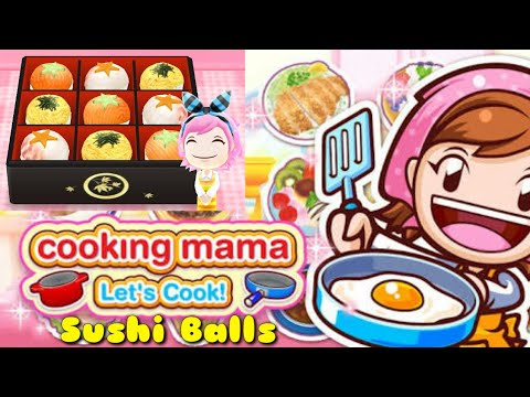 "GAME COOKING MAMA ""SUSHI BALLS"""