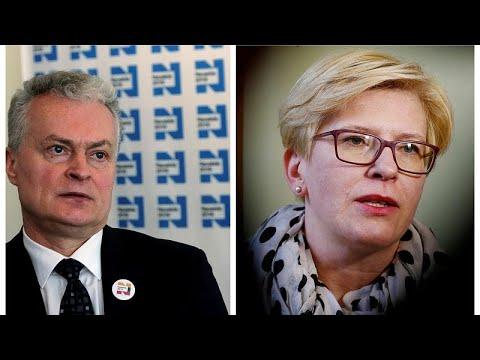 Λιθουανία-προεδρικές εκλογές: Ναουσέντα και Σιμονίτε στον β' γύρο…