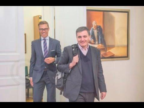 Τσακαλώτος: Eποικοδομητική η συνάντηση με τον Αλ. Στουμπ για την έξοδο της Ελλάδας από την κρίση