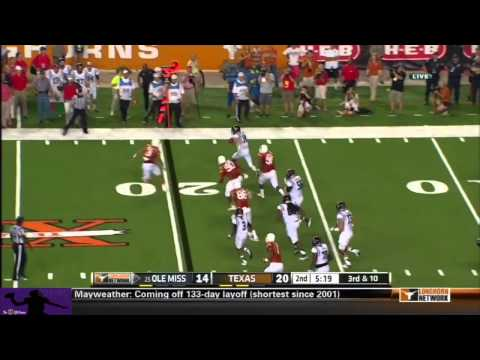 Bo Wallace vs Texas 2013 video.