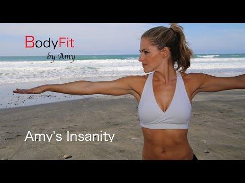 Amy's Insanity Plyometric Cardio and Strength Workout