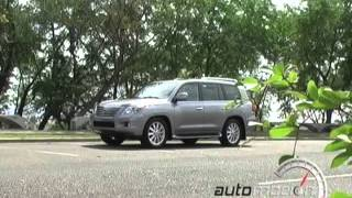 LEXUS LX 570 2008 TEST DRIVE AUTOMOCION TV