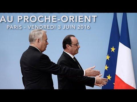 Γαλλία: Μικρές προσδοκίες από τη διάσκεψη για το Παλαιστινιακό