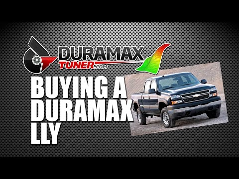 BUYING A DURAMAX LLY