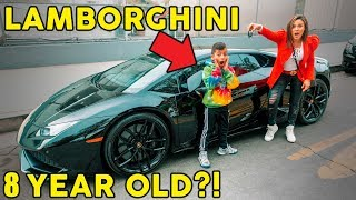 Our 8 Year Old Son Finally Got His Lamborghini   His Dream Came True     The Royalty Family