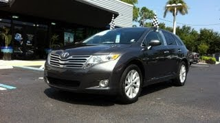 Autoline Preowned 2010 Toyota Venza For Sale Used Walk Around Review Test Drive Jacksonville