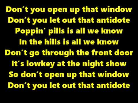 Travis Scott  - Antidote (Lyrics On Screen)