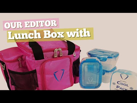 Lunch Box With Containers // Our Editor Choice