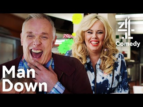 Greg Davies & Roisin Conaty LOSING IT! | Funniest Bloopers & Outtakes Pt. 1 | Man Down