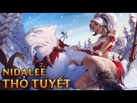 Nidalee Thỏ Tuyết - Snow Bunny Nidalee