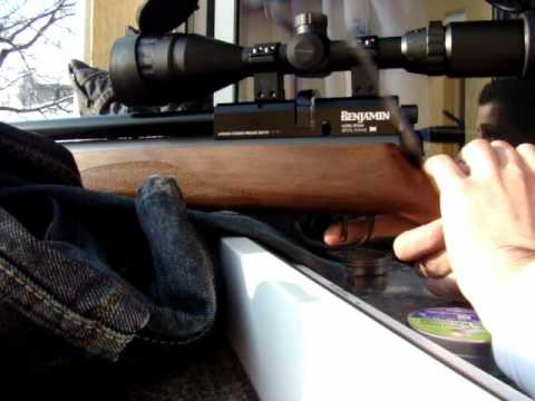 Benjamin Marauder .22 accuracy and penetration test
