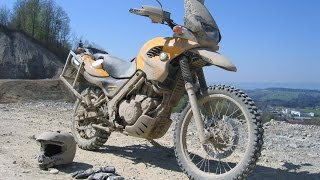 9. Enduro Offroad Test and Review BMW F650 GS Dakar, Yamaha XT250, MZ 125 SX