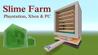 Slime farm movieandvideo minecraft tutorial slime farm for playstation xbox pc ccuart Choice Image