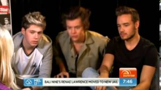 Harry, Niall, and Liam Interview on Sunrise