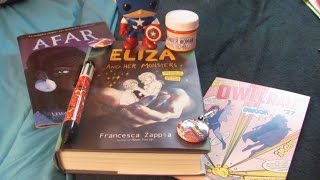 Watch me uncover what is in the May box from Owlcrate! Follow me on Instragram at JoiseyDani78, Facebook at JoiseyDani, and Twitter at JoiseyDani. Subscribe too!