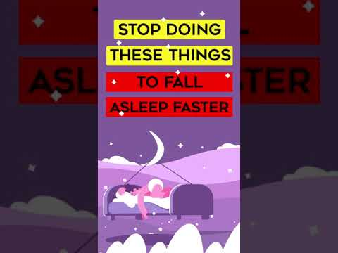 Stop Doing These Things To Fall Asleep Easier