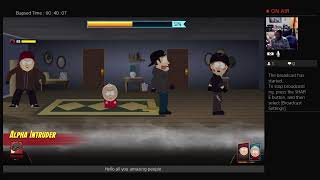 cornivaqious's Live PS4 New Game South Park Fractured But Whole Part 1!!!!