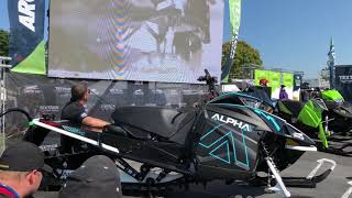 7. Arctic Cat M 6000 Alpha One unveiling