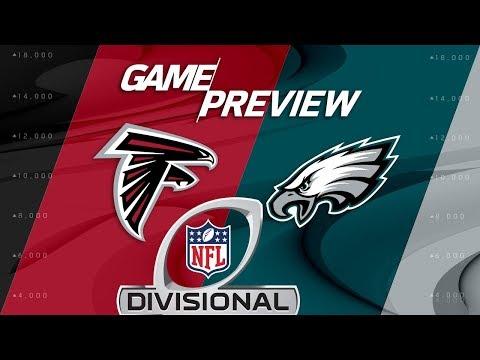 Video: Atlanta Falcons vs. Philadelphia Eagles | NFL Divisional Round Preview | Move the Sticks