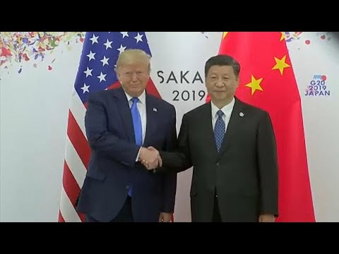Χαμόγελα Τραμπ και Σι στη σύνοδο των G20