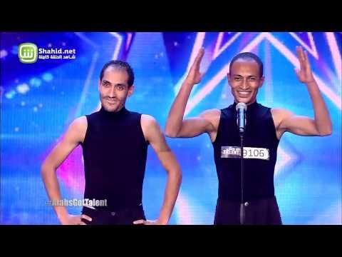 هذان المتسابقان أخافا لجنة تحكيم Arabs Got Talent