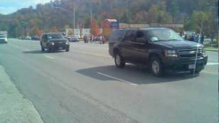 Boone (NC) United States  city images : President Obama passes through Boone North Carolina