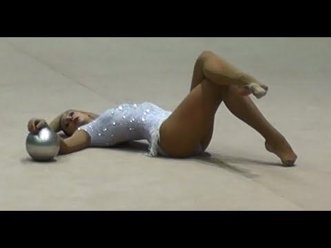 Monija Cebasek Ball 2014 - Rhythmic gymnastics (видео)