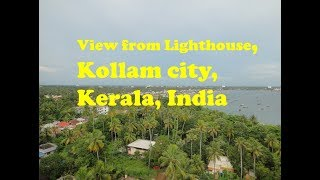 Kollam India  city photos gallery : View from Light house, Kollam, Kerala, India