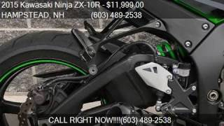 10. 2015 Kawasaki Ninja ZX-10R *30th Anniversary* for sale in HA