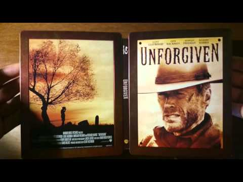 Unforgiven - Zavvi Exclusive Limited Edition Steelbook Blu-ray Unboxing