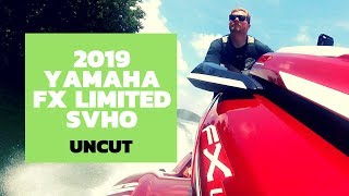5. The Watercraft Journal Uncut: 2019 Yamaha FX Limited SVHO WaveRunner