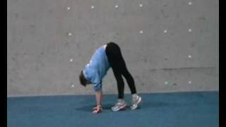 【ウォームアップに行いたい体幹トレーニング】キャタピラー